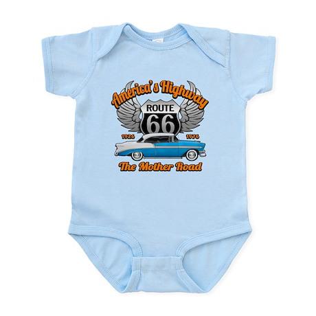 America's Highway 66 Infant Bodysuit