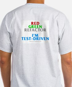 Red Green Refactor (Ash Grey T-Shirt)