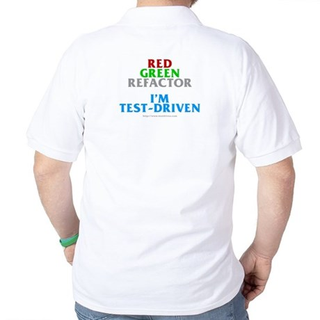 I'm test-driven (Golf Shirt)