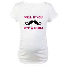 Mustache Girl Shirt