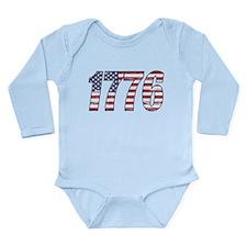 1776 Flag Body Suit