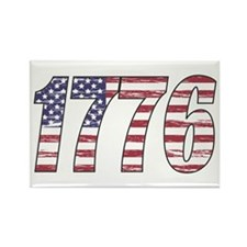 1776 Flag Rectangle Magnet