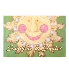 Sunshine and Smiles Postcards (Package of 8)