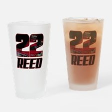 22 Reed Drinking Glass