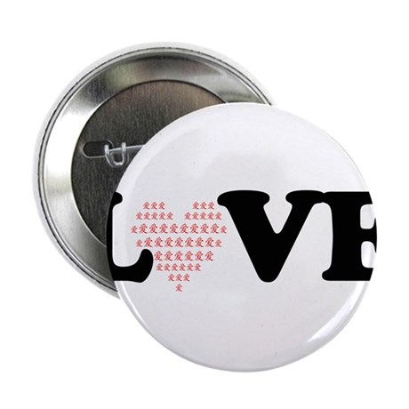 "LOVE by QI 2.25"" Button"