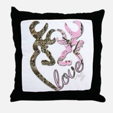 country love Throw Pillow