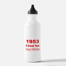 1953 A Great Year Water Bottle