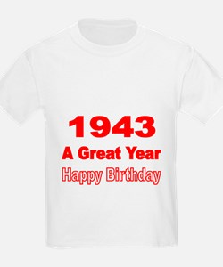 1943 A Great Year T-Shirt