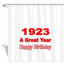 1923 A Great Year Shower Curtain