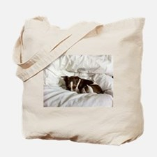Sleepy Jack Russel Brindle Tote Bag