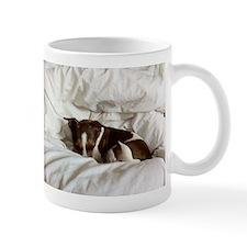 Sleepy Jack Russel Brindle Mug