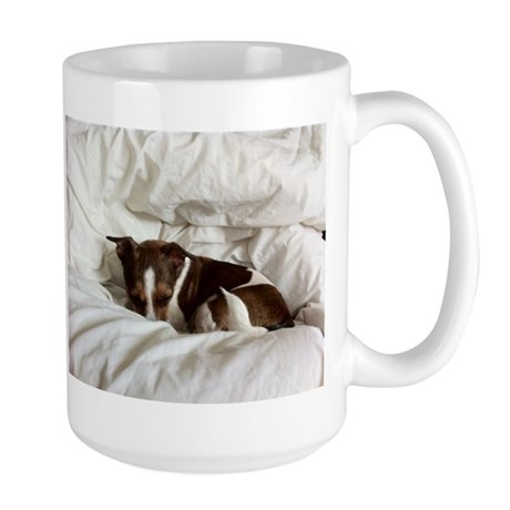 Sleepy Jack Russel Brindle Mug
