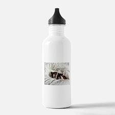 Sleepy Jack Russel Brindle Water Bottle