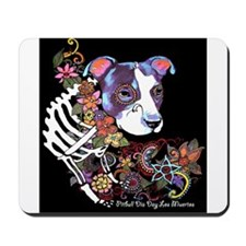 Black Pitbull Day ot The dead Mousepad