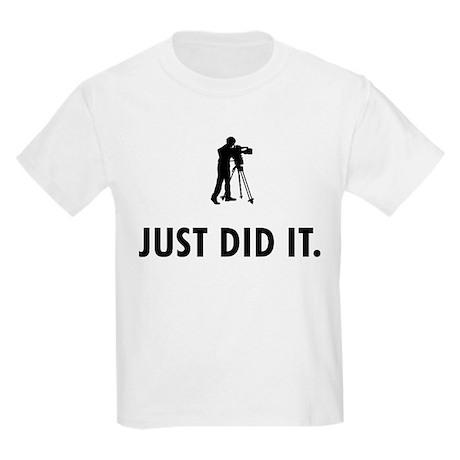 Cameraman Kids Light T-Shirt