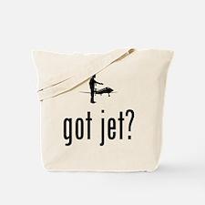 Business Jet Tote Bag