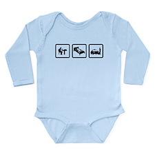 Cab Driver Long Sleeve Infant Bodysuit