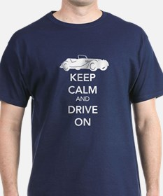 Keep Calm and Drive On T-Shirt