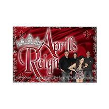 April's Reign Rectangle Magnet