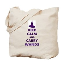 Carry Wands (purple) Tote Bag