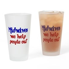 Midwives Drinking Glass