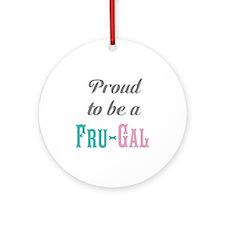 Fru-Gal Ornament (Round)