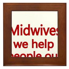 Midwives Framed Tile
