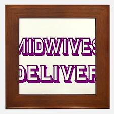 MIDWIVES DELIVER 3 Framed Tile