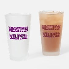 MIDWIVES DELIVER 3 Drinking Glass