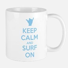 Keep Calm and Surf On Taza