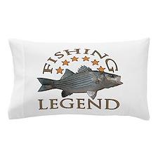 Fishing legend Striped Bass Pillow Case