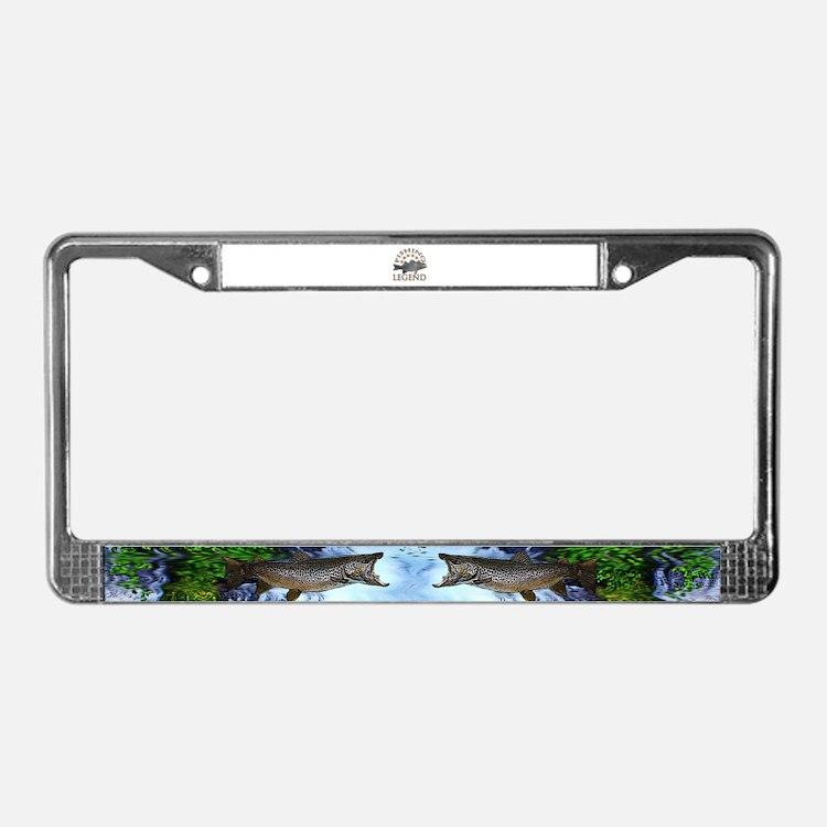 Striper fishing licence plate frames striper fishing for Fishing license plate