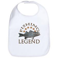 Fishing legend Striped Bass Bib