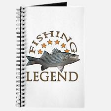 Fishing legend Striped Bass Journal