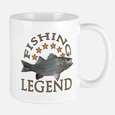 Fishing legend Striped Bass Small Small Mug