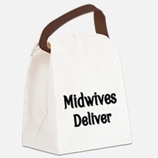 Midwives Deliver Canvas Lunch Bag