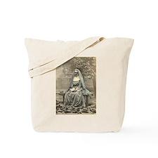 Sad Nun Tote Bag