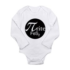 Pyrite Long Sleeve Infant Bodysuit