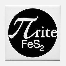 Pyrite Tile Coaster