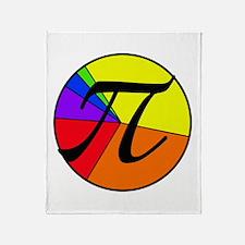 PI chart Throw Blanket