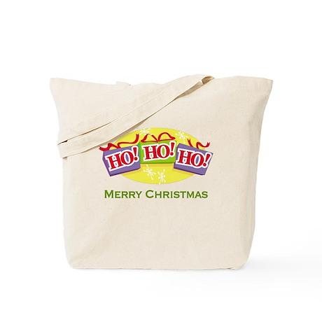 Ho Ho Ho Merry Christmas Tote Bag