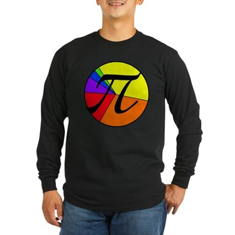 PI chart Long Sleeve Dark T-Shirt