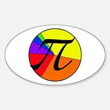 PI chart Sticker (Oval)