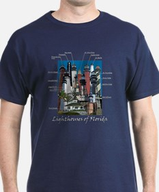 Lighthouses of Florida T-Shirt