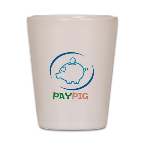PayPig Shot Glass