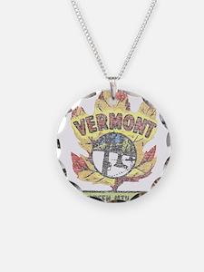 Vintage Vermont Maple Leaf Necklace