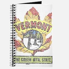 Vintage Vermont Maple Leaf Journal
