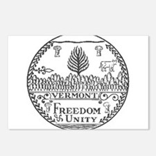 Vermont Vintage State Seal Postcards (Package of 8