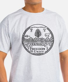 Vermont Vintage State Seal T-Shirt