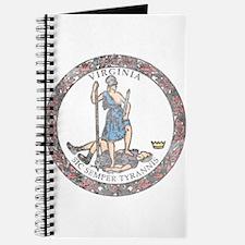 Virginia Vintage State Flag Journal